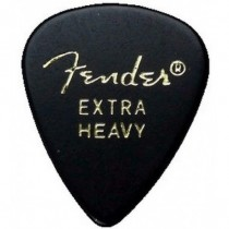 FENDER 351 CLASSIC CELLULOID 144 BLACK EXTRA HEAVY
