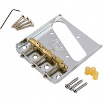 FENDER BRIDGE ASSEMBLY FOR AMERICAN SERIES TELECASTER CHROME