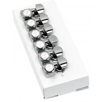 FENDER LOCKING TUNING MACHINES FOR STRATOCASTER/TELECASTER POLISHED CHROME