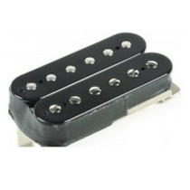 GIBSON 498T HOT ALNICO 5 HUMBUCKER / DBL BLK COVER - BRIDGE