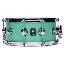 NATAL DRUMS CAFE RACER SNARE 14x6.5 SEA FOAM GREEN