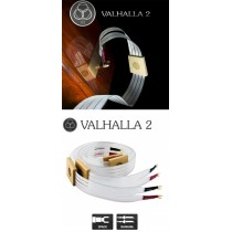 Nordost Valhalla-2  2x2.5m is terminated with low-mass Z plugs