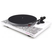 Pro-Ject DEBUT CARBON ESPRIT (DC) PS01 WAVE (2M-Red) - WHITE