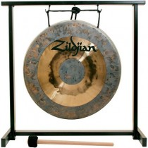 "ZILDJIAN 12"" TRADITIONAL GONG AND TABLETOP STAND SET"